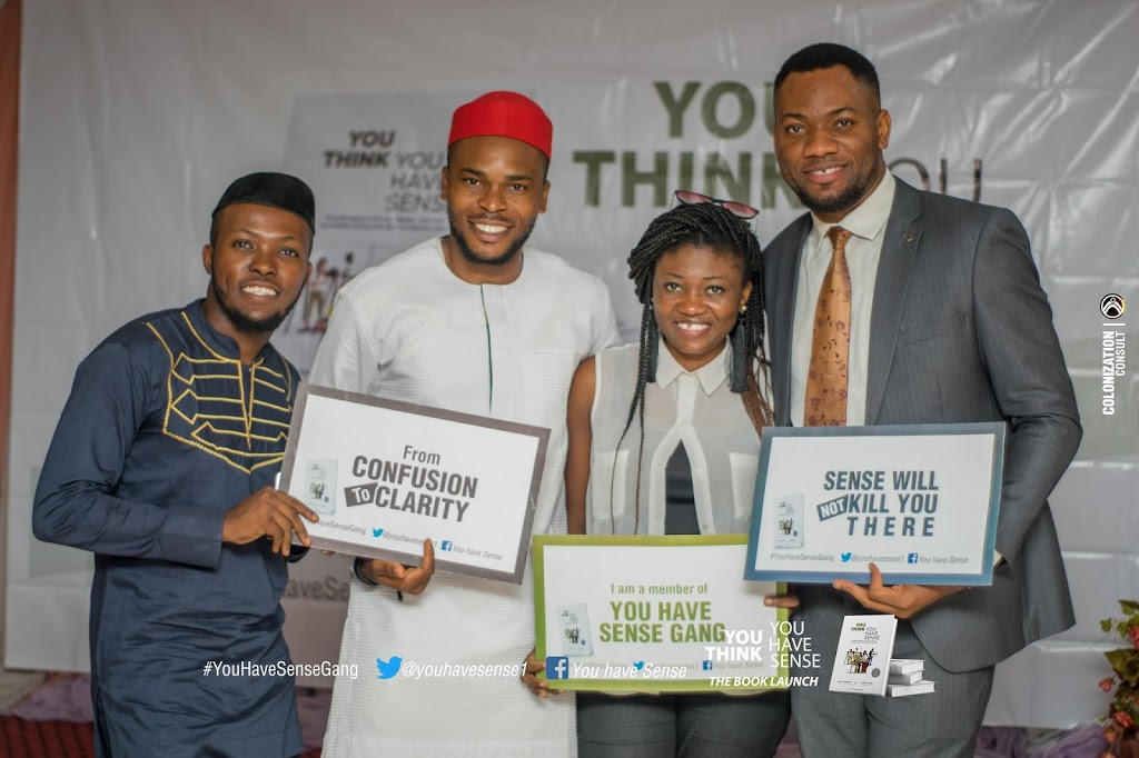 Highlights At The 'You Think You Have Sense' Book Launch Event Held In Abuja