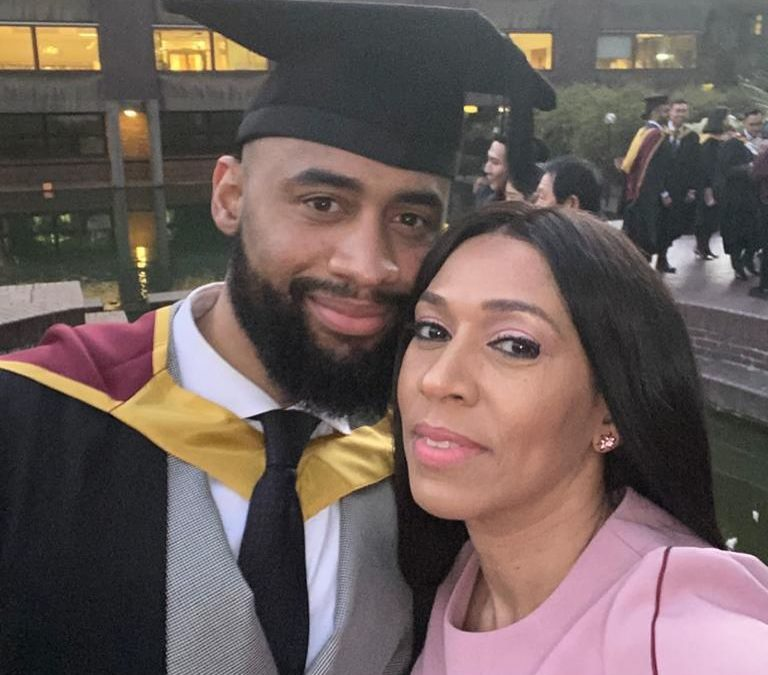 Pastor Ifeanyi Adefarasin Shares Cute Pictures of Her Son's Graduation