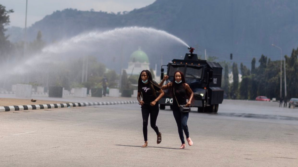Some ICONIC Photos from the #EndSARS protests in Nigeria