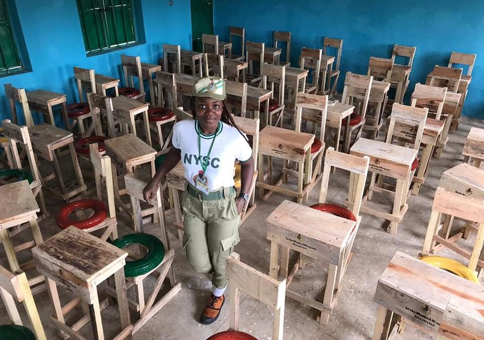 Winniefred Leche: How I Donated 50 Desks for School Students Sitting on the Floor