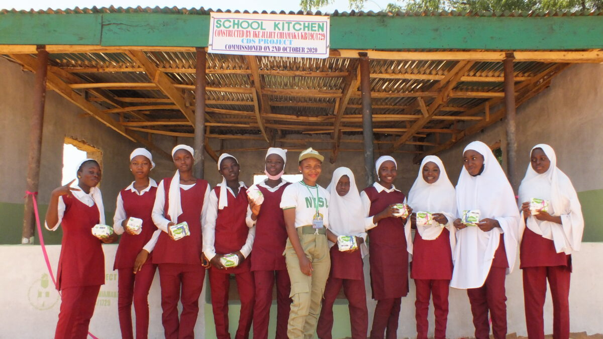 Juliet Ike: How I Executed My NYSC Personal CDS Project